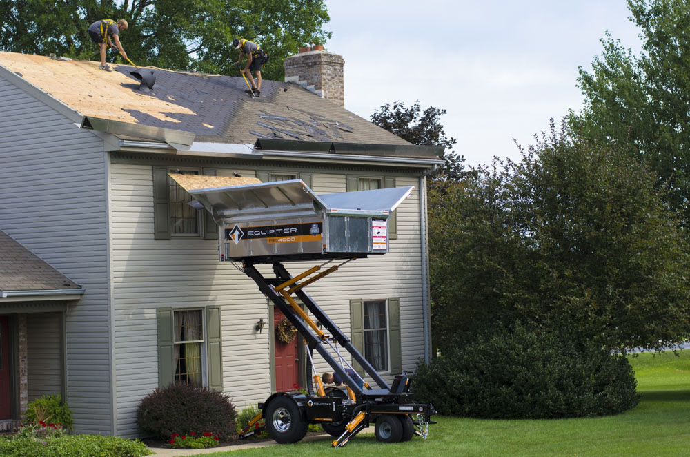 Roofing Safety Benefits Of The Equipter Rb4000
