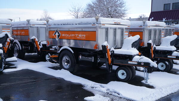 Equipter RB4Ks in Snow