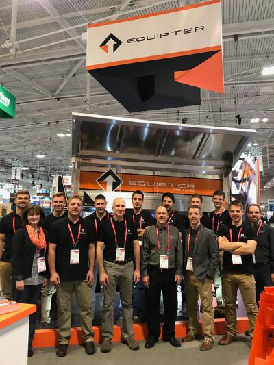 Equipter team at 2019 IRE