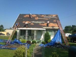 roofing debris management systems