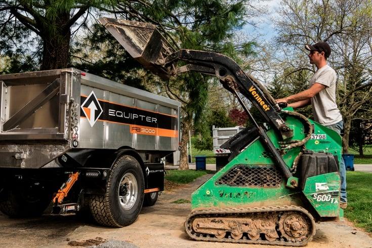 professional grade landscape equipment