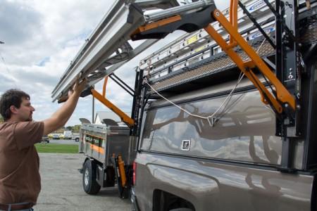 stow-a-brake lifting