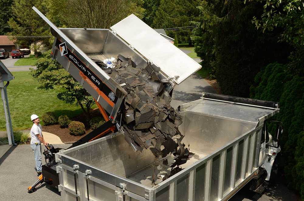 equipter rb4000 dumping