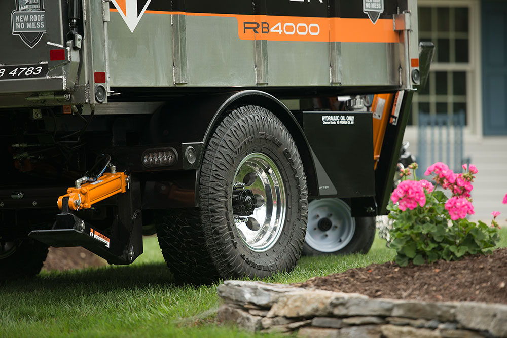 Rb4000 Residential Buggy Roofing Trailer