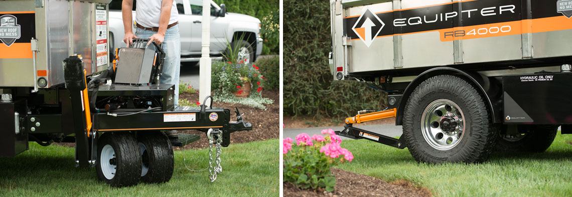 The Equipter RB4000: The Drivable Dump Trailer that can