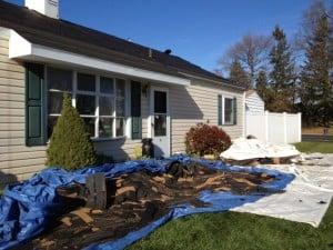 roofing debris management