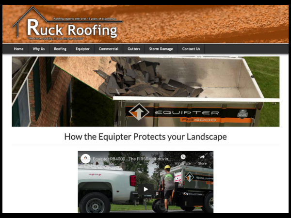 Ruck Roofing Equipter
