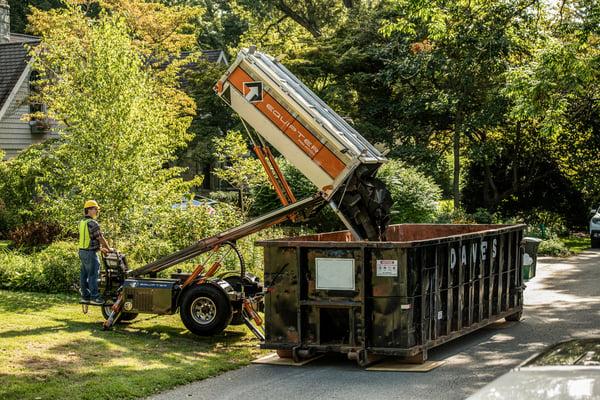 equipter rb4000 dumpster