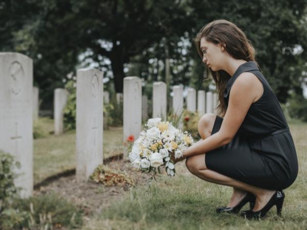 clean grave