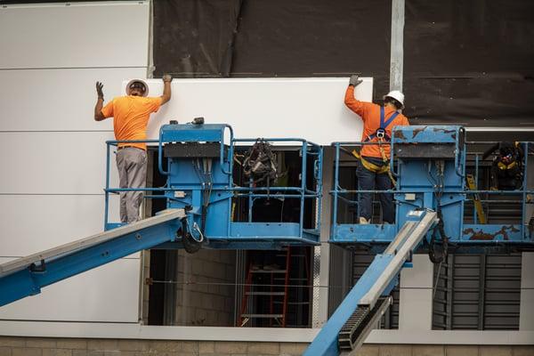 manlift construction equipment