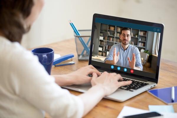 virtual sales pitch