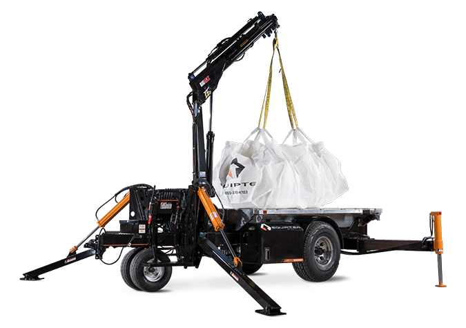 Equipter CR8000 | Small Mobile Crane