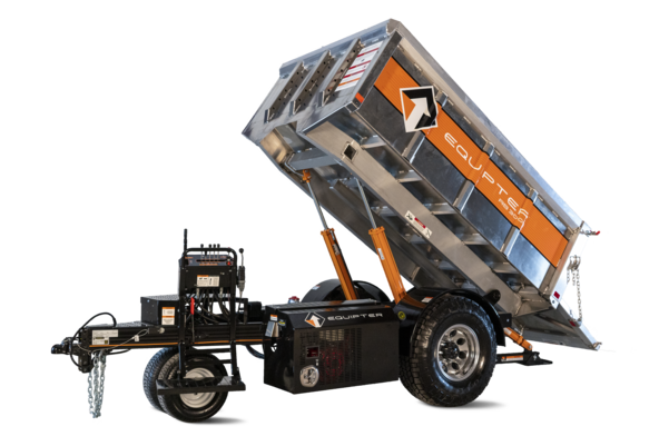 RB3000 landscape dump trailer
