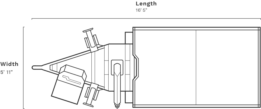 CR8400 height
